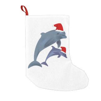 santa dolphins stocking