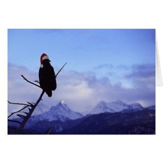Santa Eagle Card