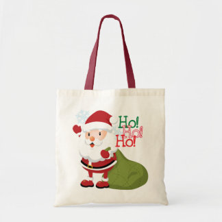 Santa Economy Shopping Bag