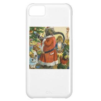 Santa Elephant Celebrates an Animal Christmas iPhone 5C Case