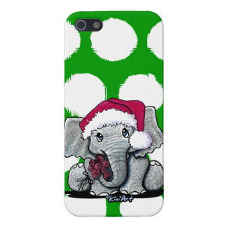 Santa Elephant iPhone 5/5S case