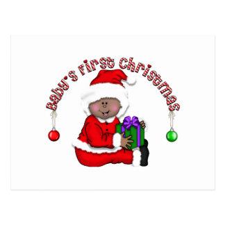 Santa Elf Baby T-shirts and Gifts Postcards