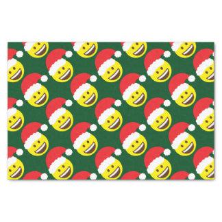 Santa Emoji Tissue Paper