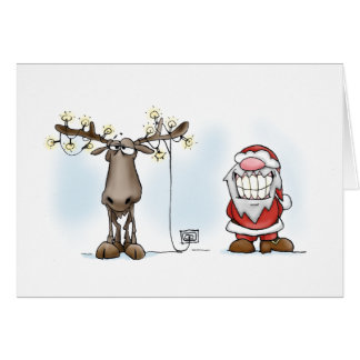 Santa & Eric: Enlightenment Card