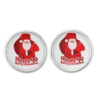 Santa / Father Christmas ho ho ho cufflinks
