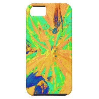 Santa Fe Acid wash yellow iPhone 5 Covers