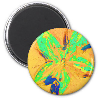 Santa Fe Acid wash yellow Magnet