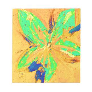 Santa Fe Acid wash yellow Notepad