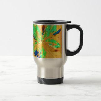 Santa Fe Acid wash yellow Travel Mug