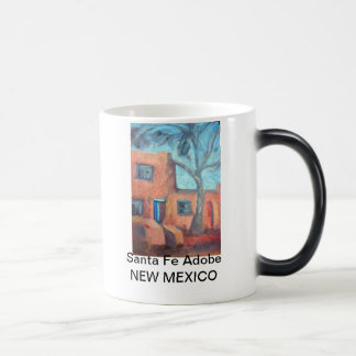Santa Fe Adobe, New Mexico Magic Mug