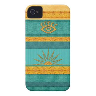 Santa Fe Aztec Sun iPhone 4 Case-Mate Case