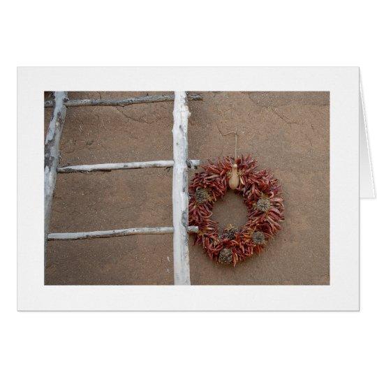 Santa Fe Christmas Card