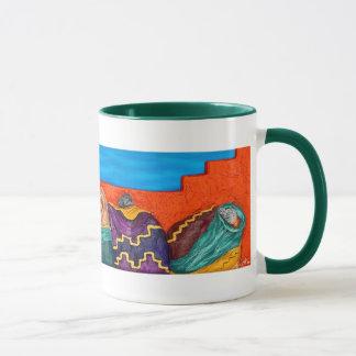 Santa Fe Circle - Mug