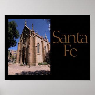Santa Fe Decorator Print
