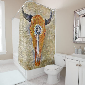 Santa Fe Design 1- shower curtain