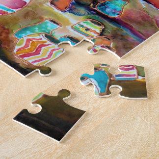 Santa Fe Lily Puzzle