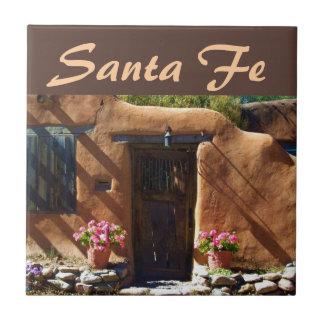 Santa Fe, New Mexico Ceramic Tile