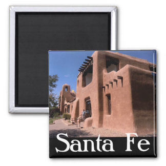 Santa Fe New Mexico Magnet