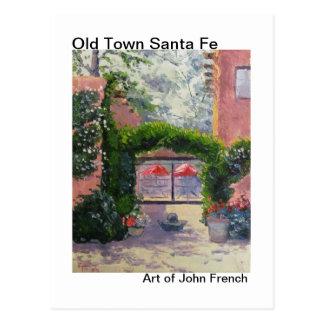 Santa Fe, NM oil painting by John French Postcard