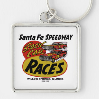 Santa Fe Speedway, Willow Springs, IL 1953-1995 Key Ring