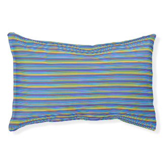 Santa fe stripes dog bed