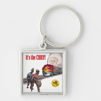 Santa Fe Super Chief Train Keychain
