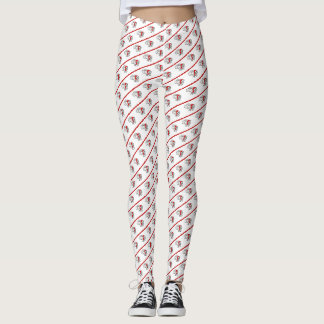 Santa Fly Christmas Leggings