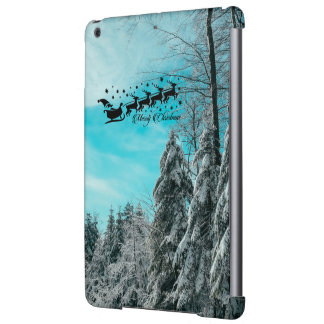 Santa Flying Christmas Special Gifts Holidays New Case For iPad Air