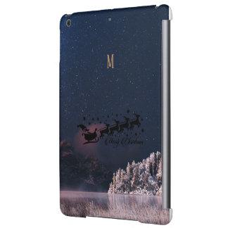 Santa Flying Christmas Special Gifts Holidays New iPad Air Cover