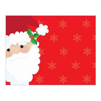 Santa Frame Postcard