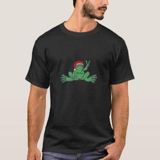 Santa Frog T-Shirt