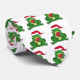 Santa Frog - Tie