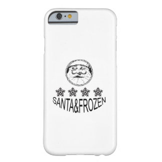 Santa Frozen Barely There iPhone 6 Case