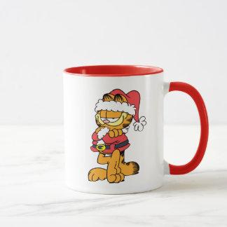 Santa Garfield Mug