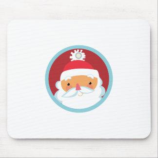 Santa Gift Tag Mousepad