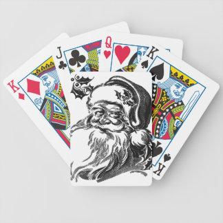 Santa Gifts Bicycle Playing Cards