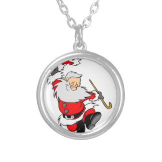 Santa Gifts Silver Plated Necklace
