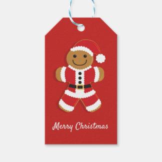 Santa Gingerbread Man | Gift Tag