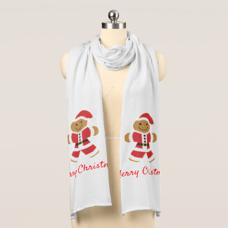 Santa Gingerbread Man | Scarf
