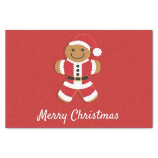 Santa Gingerbread Man | Tissue Paper