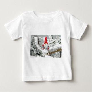 Santa Gnome Baby T-Shirt