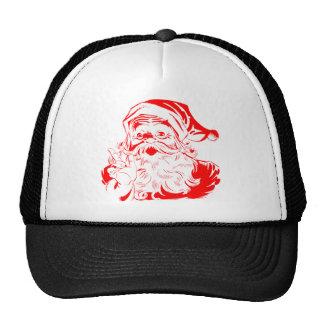 Santa Graphic Christmas T Shirts Hat