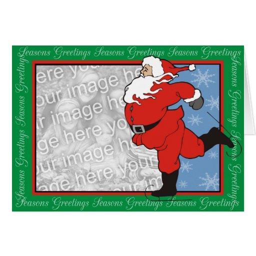 Santa Greetings Cards