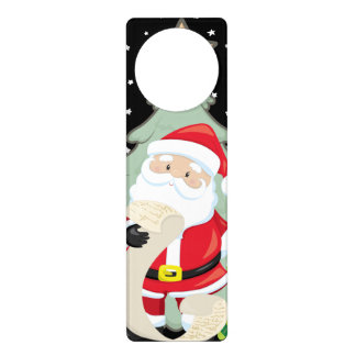 Santa Has A List Door Hanger