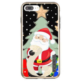 Santa Has A List Incipio DualPro Shine iPhone 8 Plus/7 Plus Case