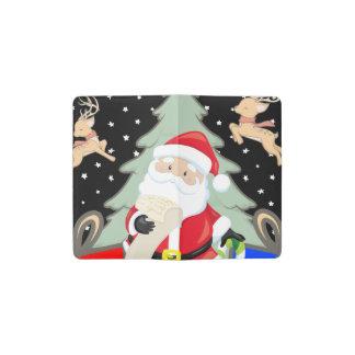 Santa Has A List Pocket Moleskine Notebook