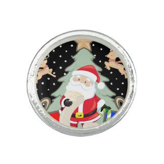 Santa Has A List Ring