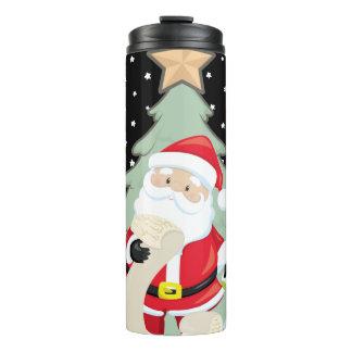 Santa Has A List Thermal Tumbler