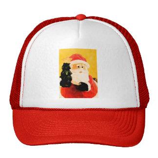 SANTA MESH HATS