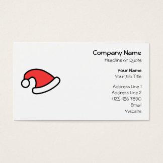 Santa Hat Design. Business Card